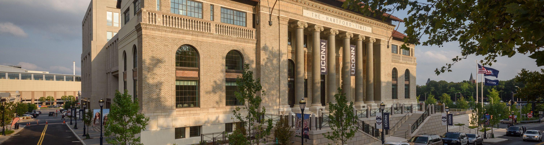 Front of Hartford building